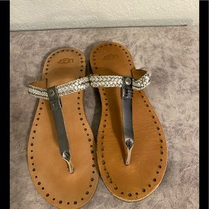 UGG sandals size 7w